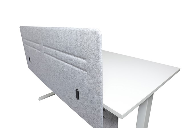 Hedj Front Mount Desk Screen